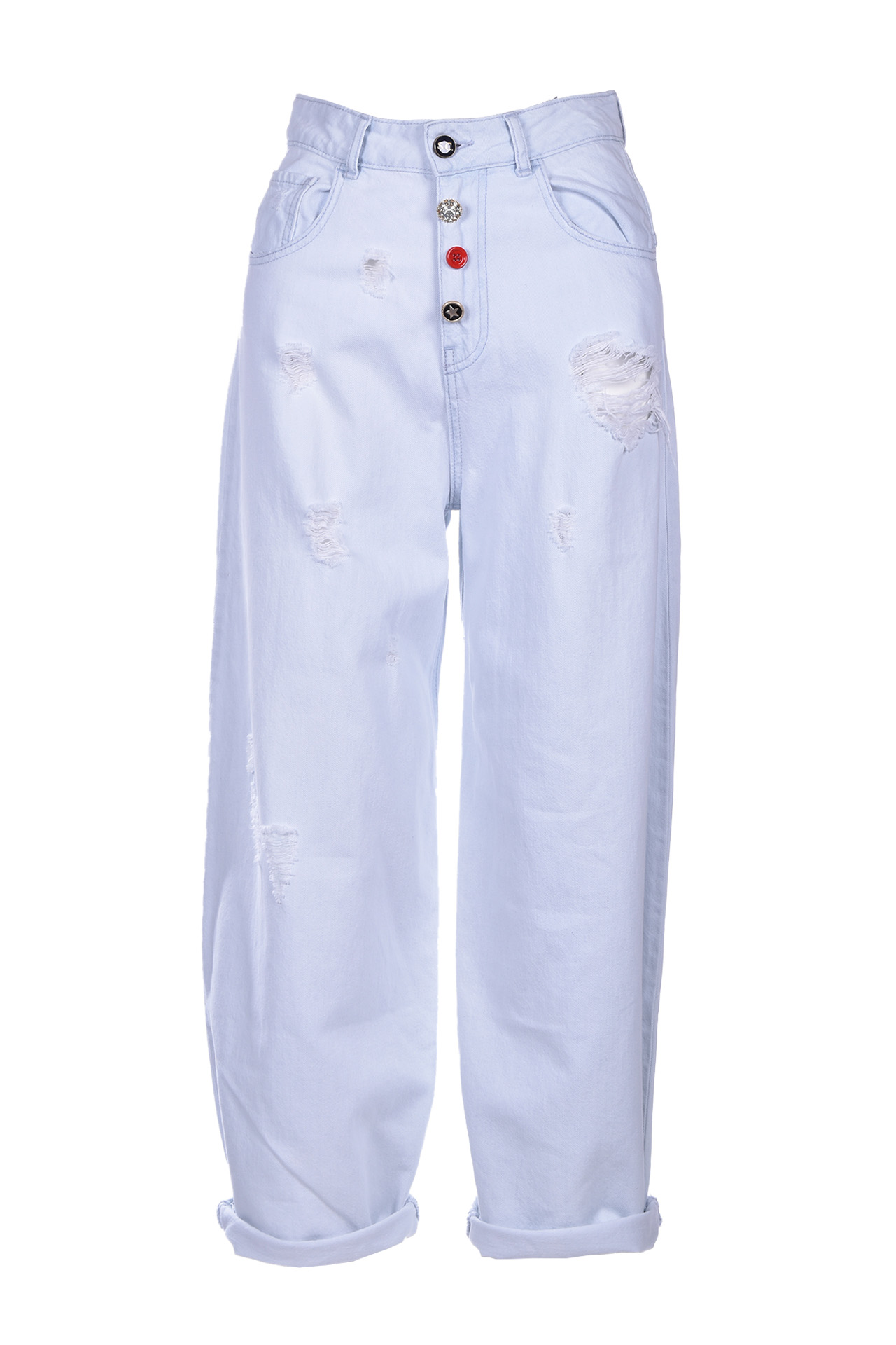 adelaide high waist wide jeans SEMICOUTURE | Jeans | S0SY01JNS01