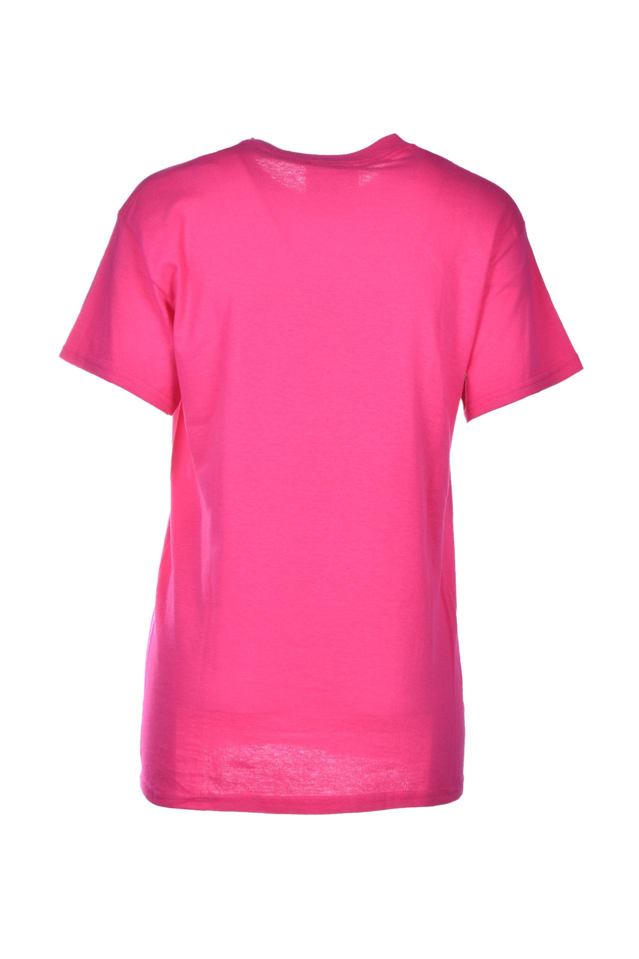 laurentin fuchsia t-shirt with logo SEMICOUTURE | T-shirts | Y0SJ44G47-0