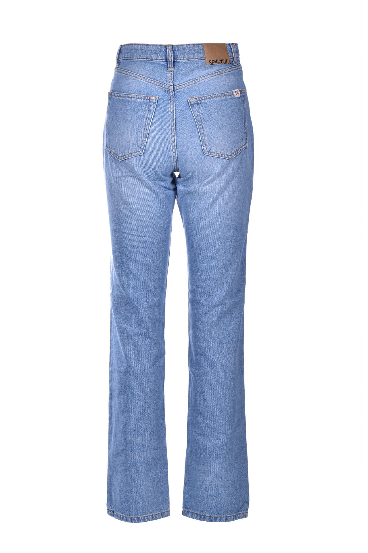 Boyfriend jeans with ribbon SEMICOUTURE | Jeans | Y0SY01M43-0
