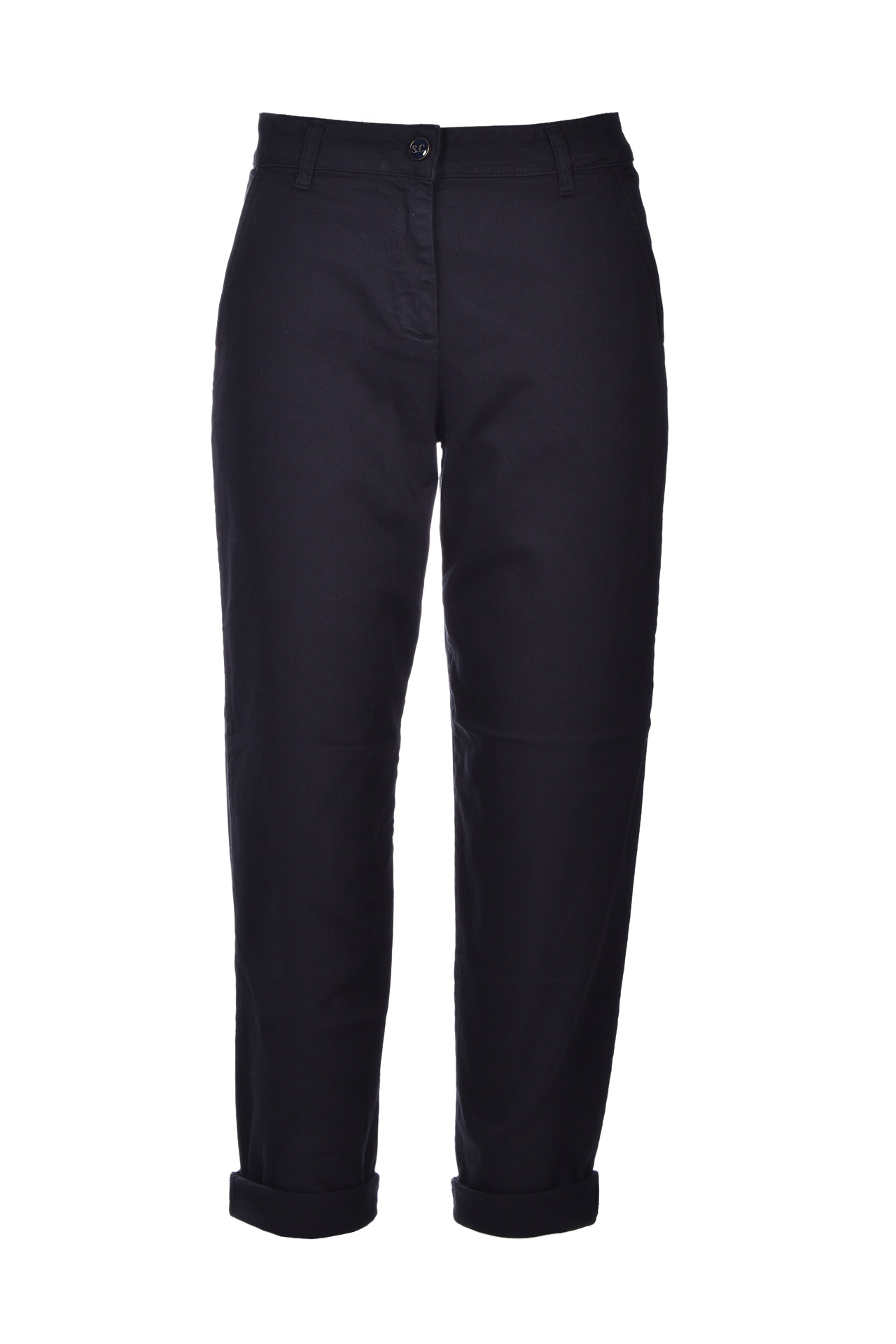 mom Jeans a sigaretta - nero SEMICOUTURE   Jeans   Y0SY11Y69-0