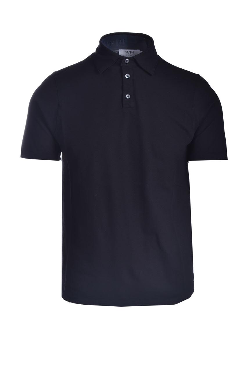 Stretch cotton pique polo shirt ALPHA STUDIO | Polo Shirt | AU 4500/B1270