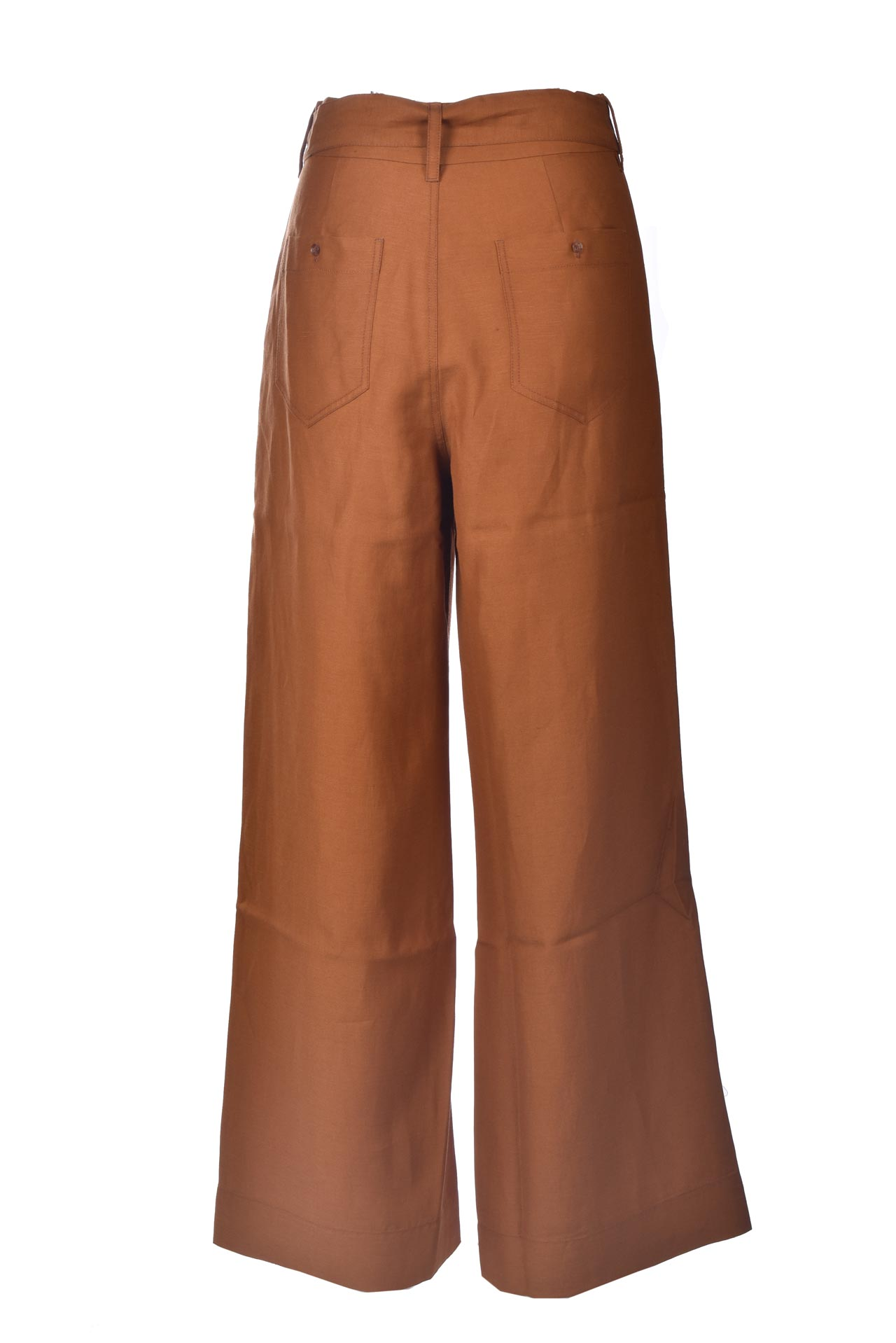 Pantaloni palazzo a vita alta ruggine ANTIK BATIK   Pantaloni   OSCAR1PANRUST
