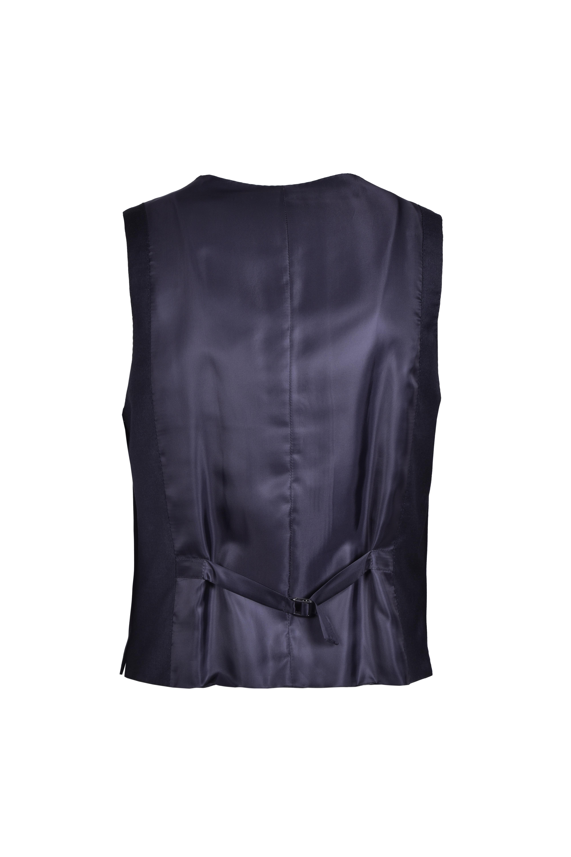 Gilet sartoriale slim fit in lana vergine Loropiana - grigio BOSS   Gilet   50384771061