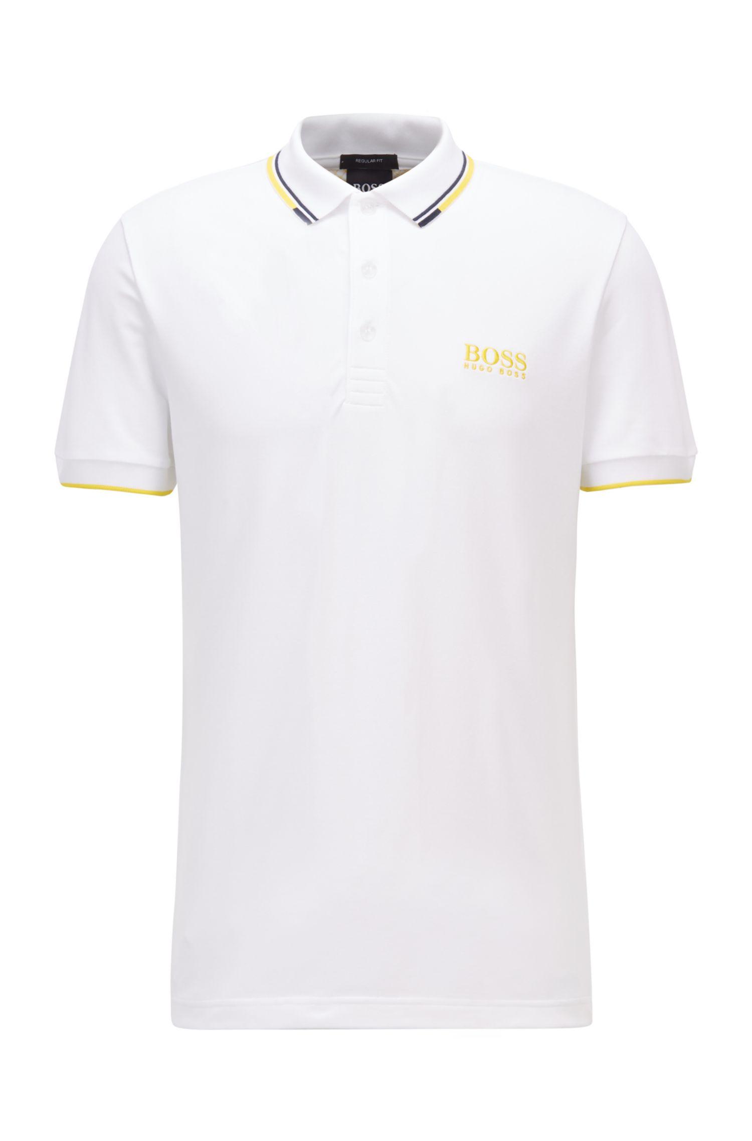 Polo da golf in tessuto elasticizzato attivo con S.Café® BOSS   Polo   50430796100