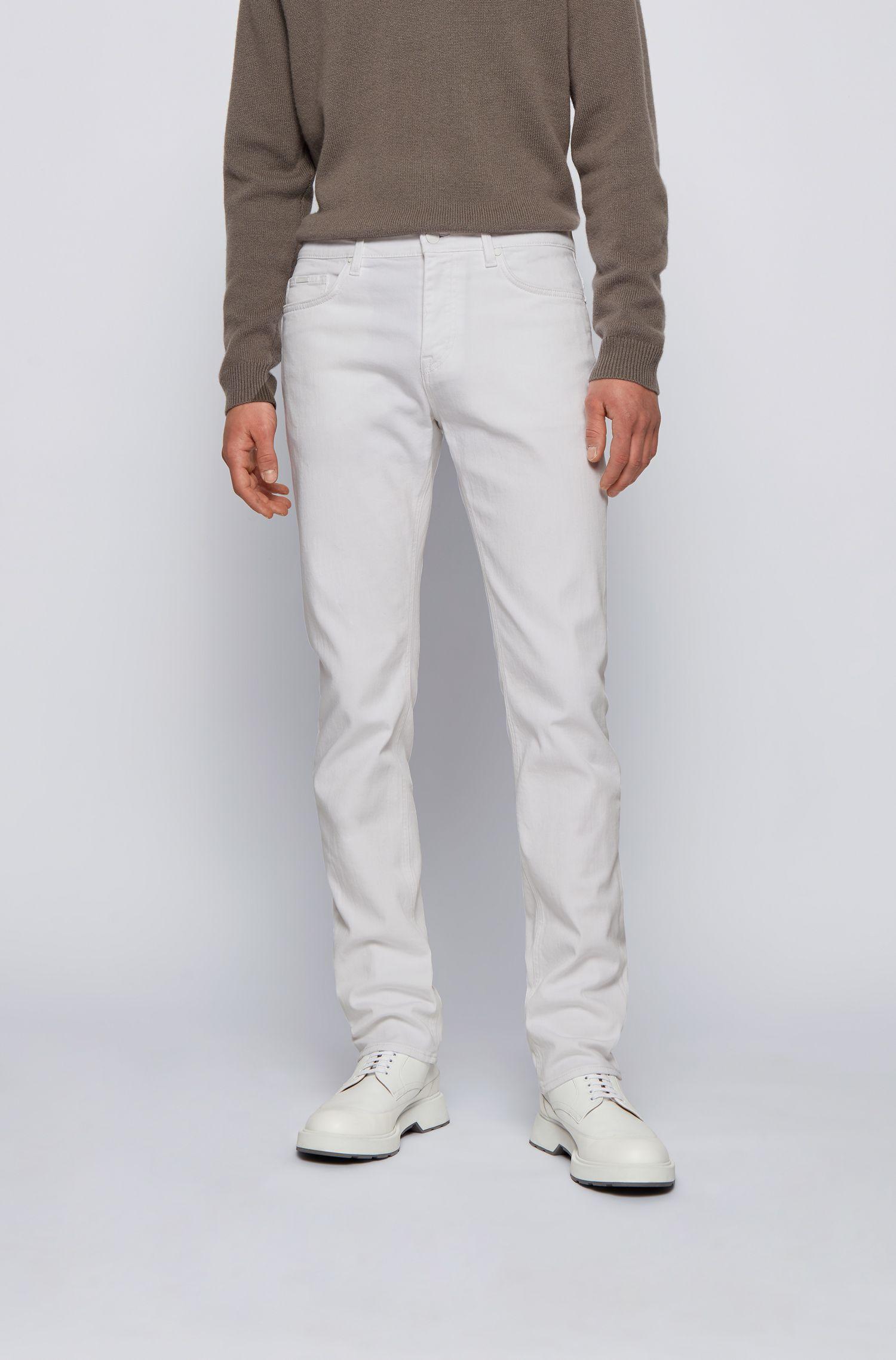 Slim fit jeans in super soft Italian stretch denim BOSS   Jeans   50449671100