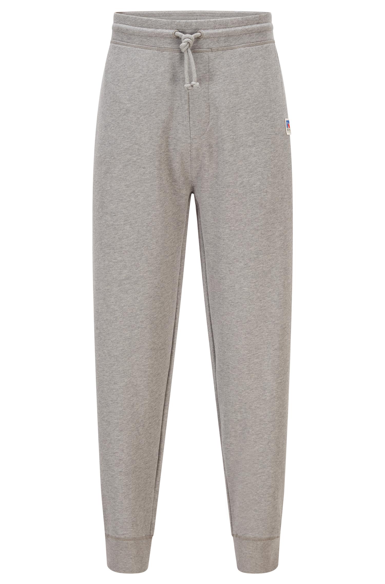 Pantaloni della tuta in cotone biologico con fondo elastico e logo esclusivo BOSS | Felpe | 50456903034