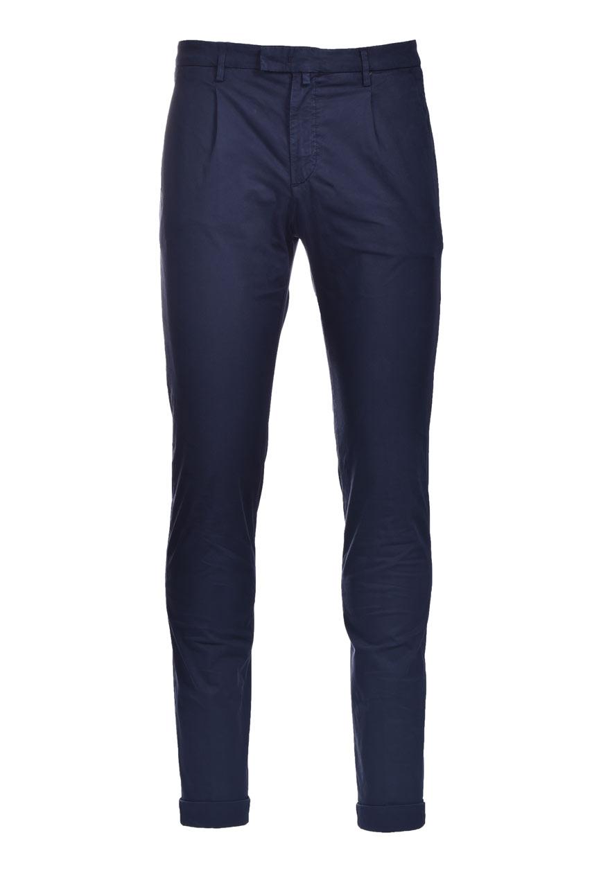 Pantalone chino slim fit con pinces BRIGLIA   Pantaloni   BG03 32112711