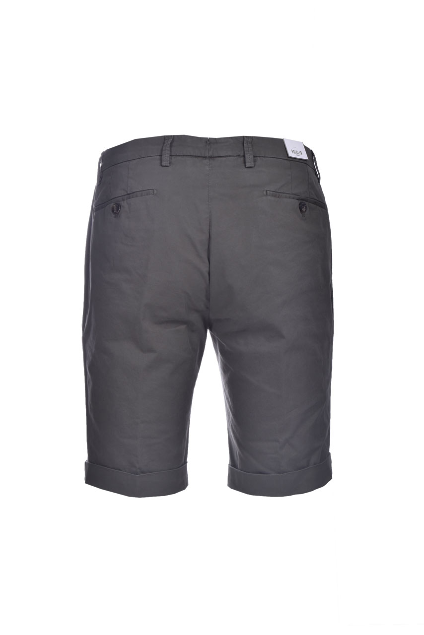 Slim fit chino bermuda shorts with pleats BRIGLIA   Bermuda   BG101 32112772
