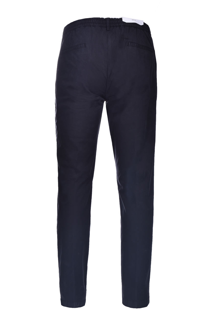 Pantalaccio in cotone e lyocell con pinces BRIGLIA   Pantaloni   BG56 32105110