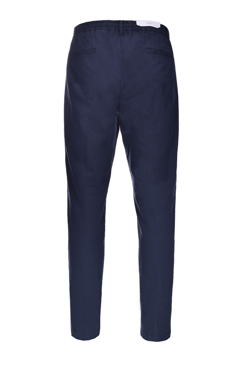 Cotton and lyocell trousers with pleats BRIGLIA   Pants   BG56 32105111