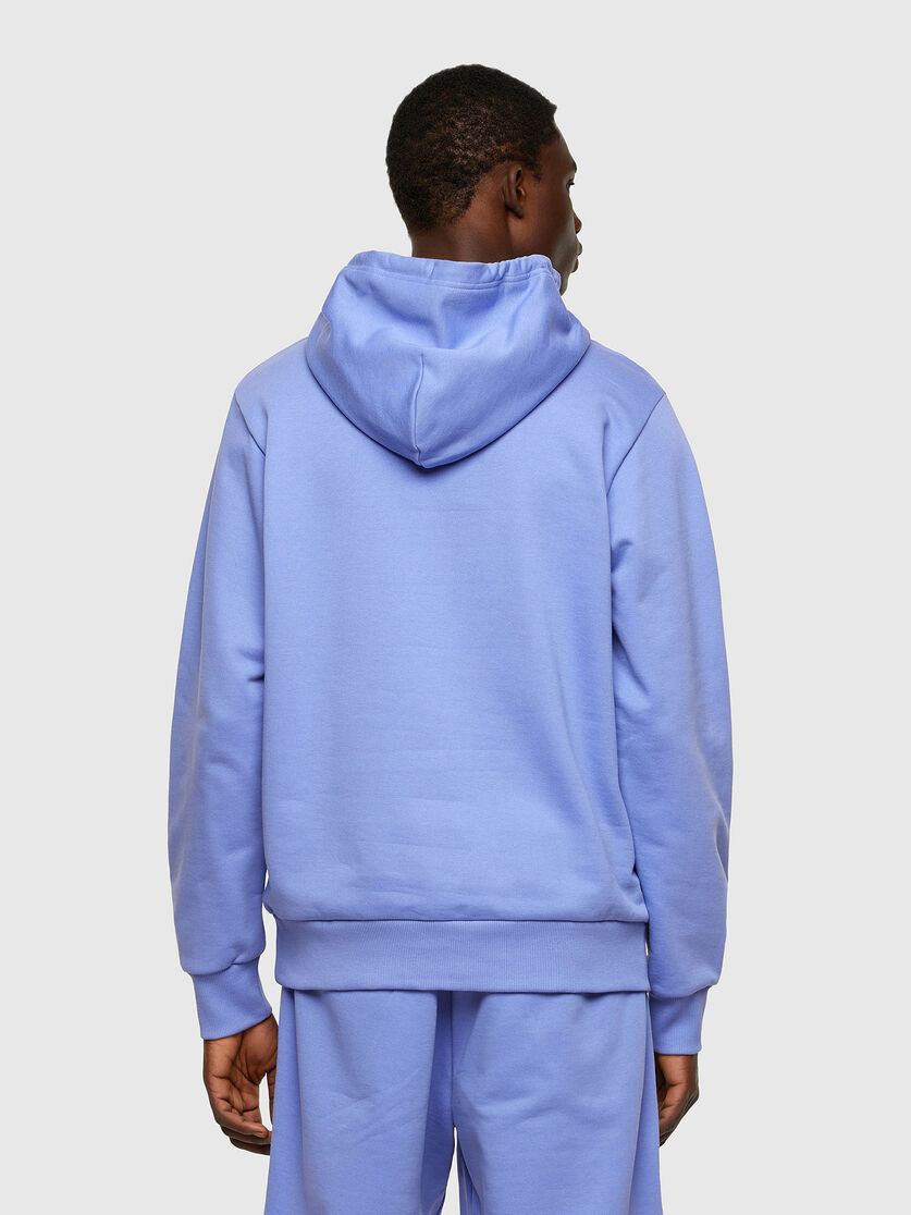 S-GIR-HOOD-DIVISION - Terry-effect cotton hoodie DIESEL | Sweatshirt | 00SAQJ 0BAWT64F