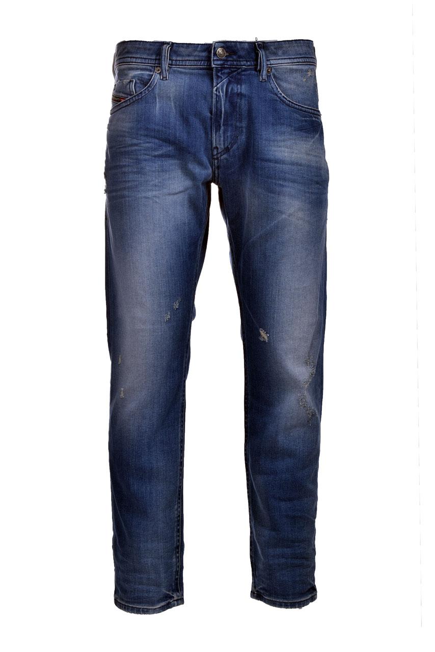 Thommer-x Jeans slim blu scuro con effetti sfumati DIESEL | Jeans | 00SB6C 009RS01