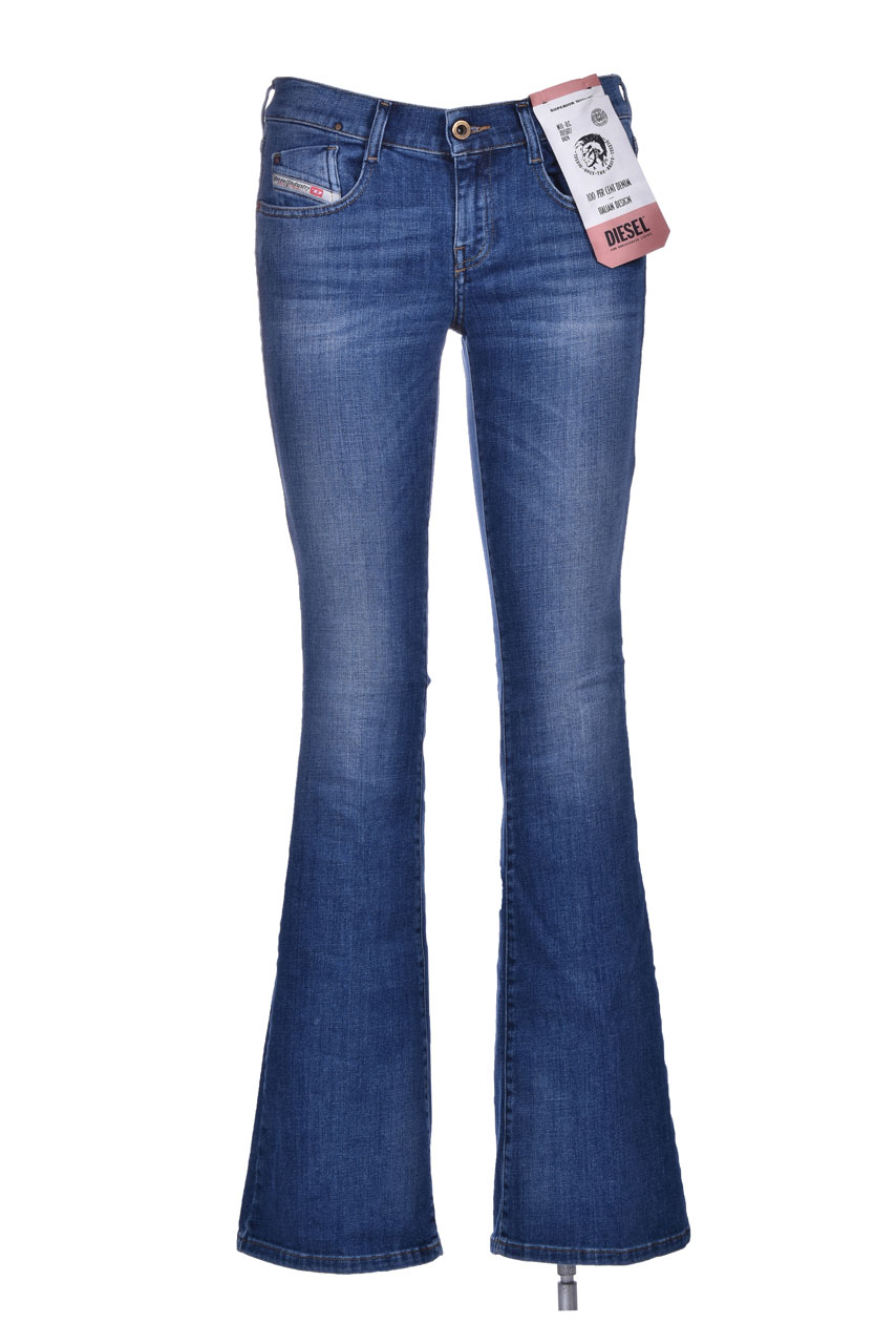 D-ebbey L32 - Medium blue flare jeans and bootcut DIESEL   Jeans   00SMMV 086AM01