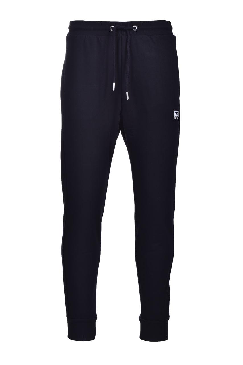 Pantaloni sportivi in misto cotone nero DIESEL   Pantaloni   A01124 0HAYT9XX