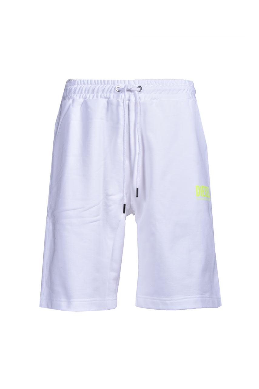 Sporty bermuda shorts in white cotton DIESEL | Bermuda | A02465 0BAWT100A
