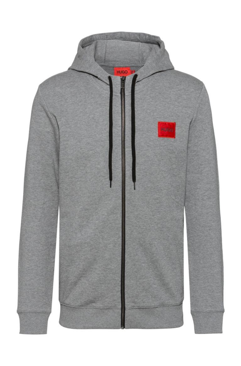 Sweatshirt with full zip in cotton terry HUGO | Sweatshirt | 50447972031