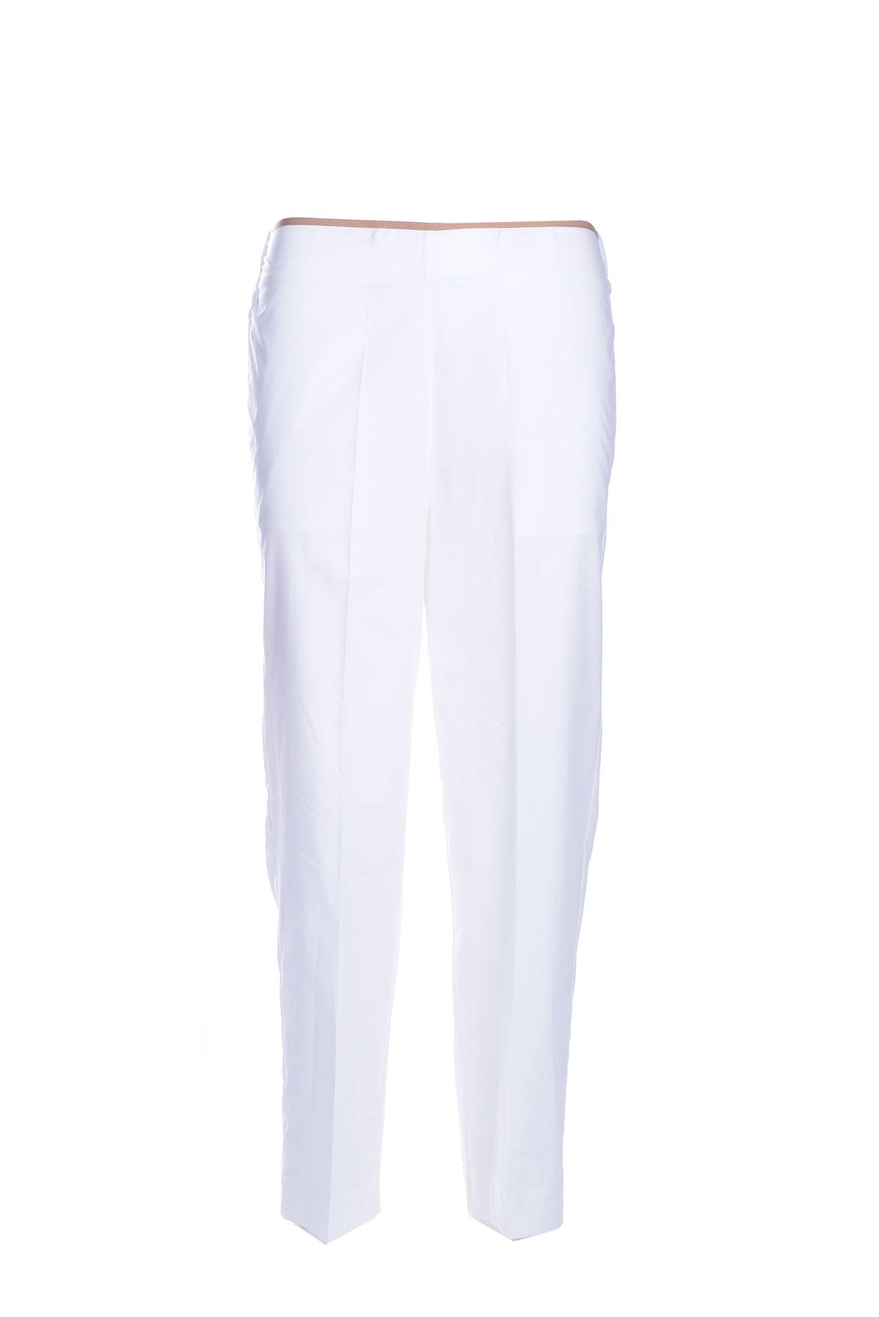 Cigarette trousers in cotton poplin JUCCA | Pants | J3314139001