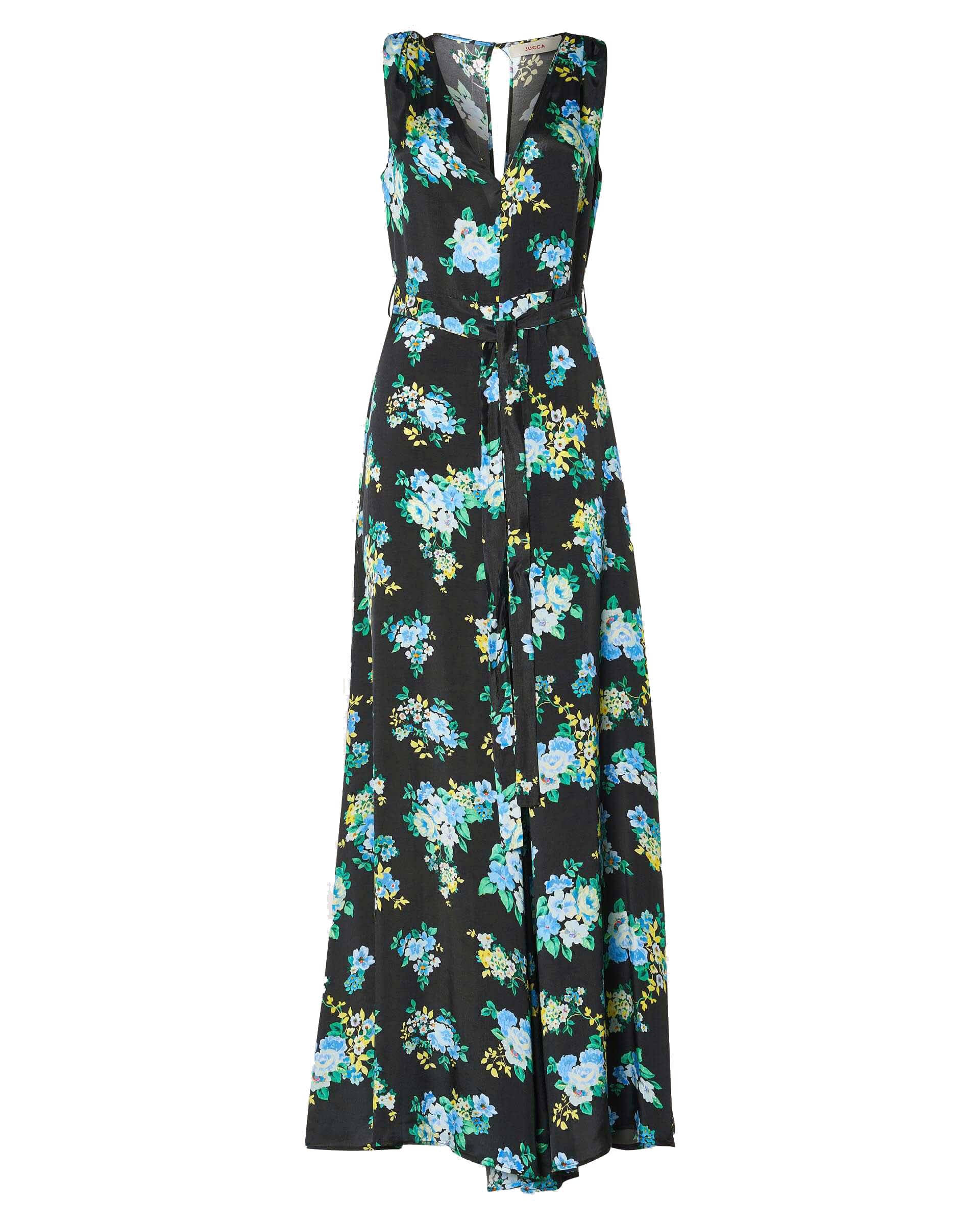 Floral viscose crepe shorts with sash JUCCA |  | J3317026003