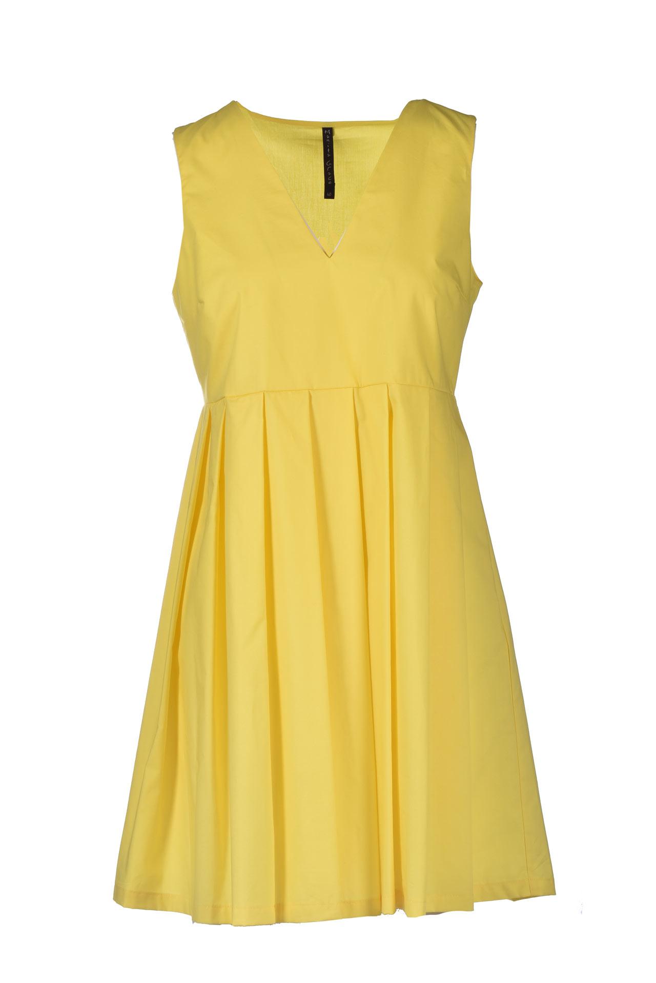 Abito smanicato con scollo a V lime MANILA GRACE | Vestiti | A110CUMA012