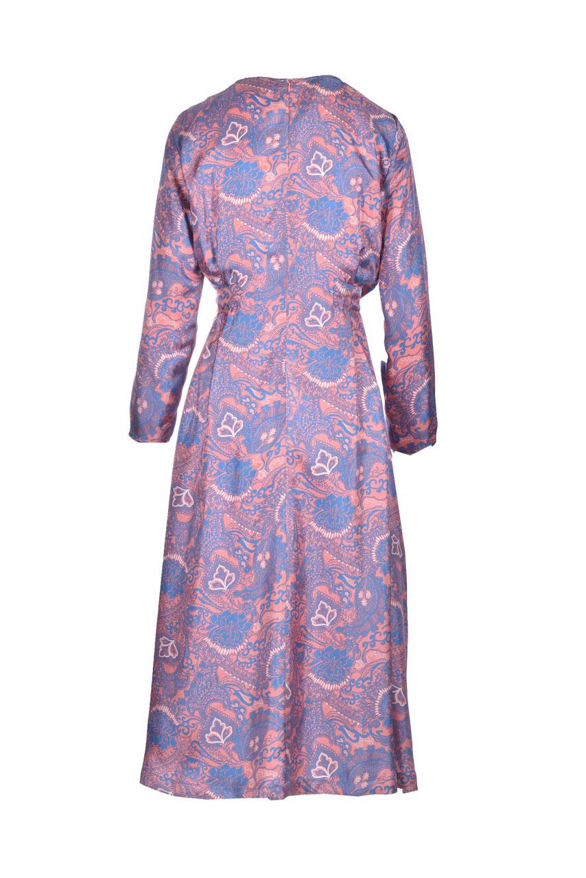 Printed silk twill midi dress MOMONI |  | MODR0044327