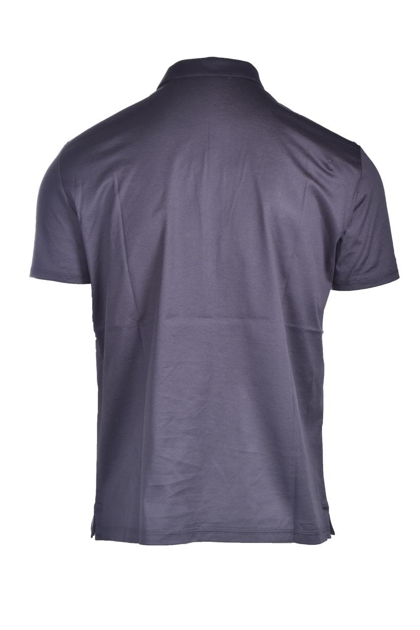 Cotton jersey polo shirt PAOLO PECORA | Polo Shirt | F051-40548897