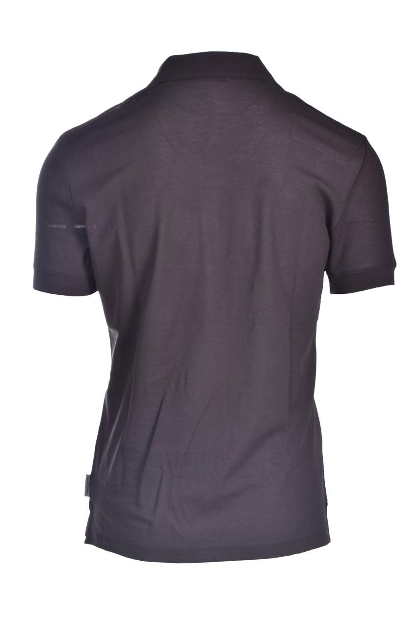 Lightweight cotton jersey polo t-shirt PAOLO PECORA | Polo Shirt | F111-41382358