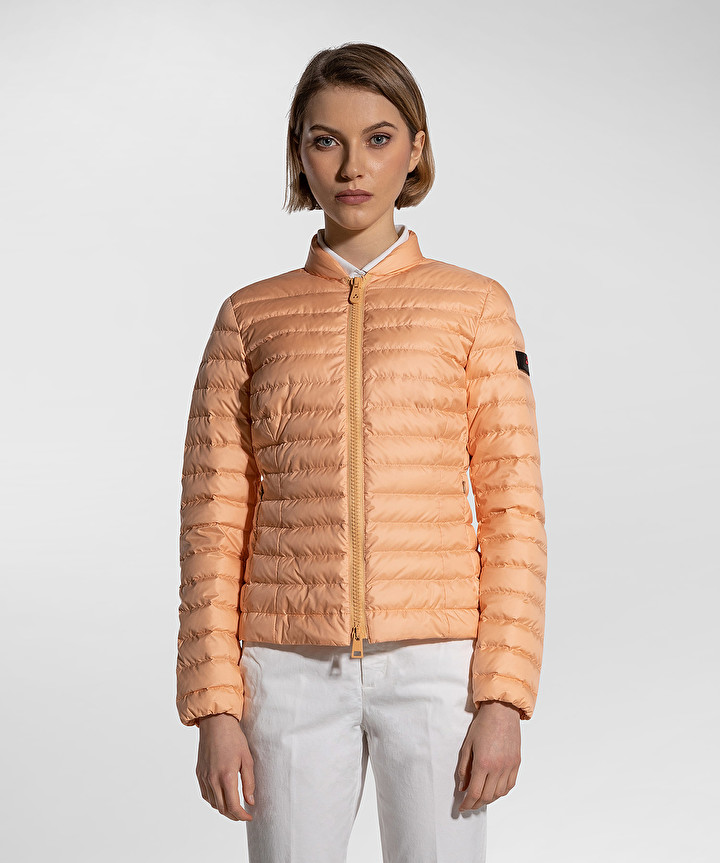 Opuntia ultralight water repellent down jacket apricot PEUTEREY | Jackets | PED3549431