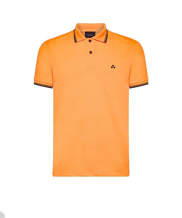 Beni polo shirt in regular fit fluo pique PEUTEREY | Polo Shirt | PEU3943017F