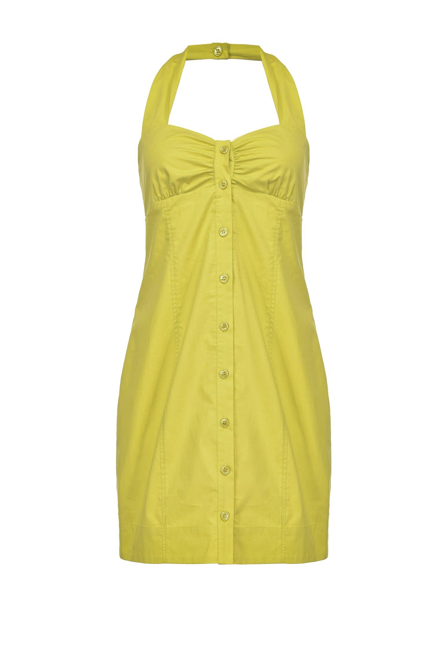 Short dress in poplin tied on the neck PINKO |  | 1G15VX-Y6VXT56