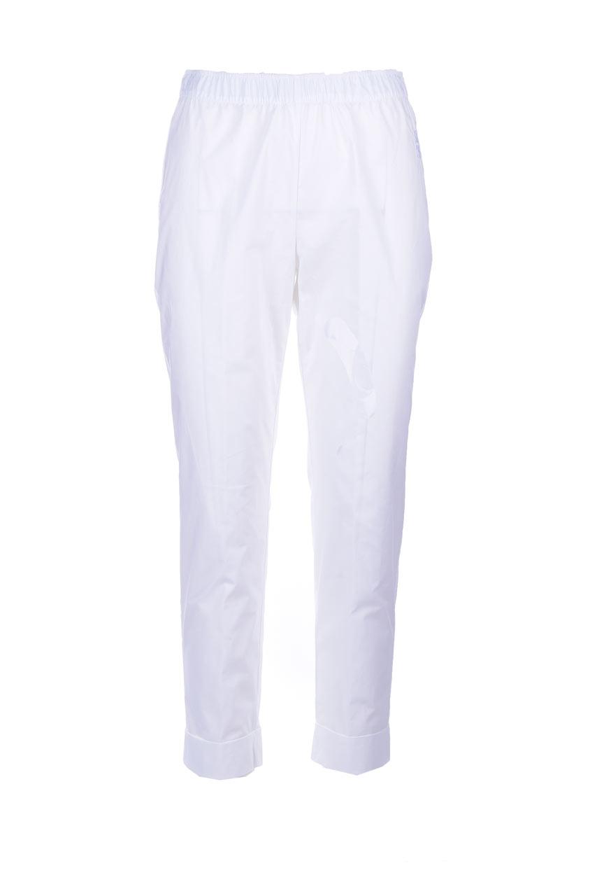 Pantalone capri pull-on con elastico SEMICOUTURE | Pantaloni | Y1SK11A01