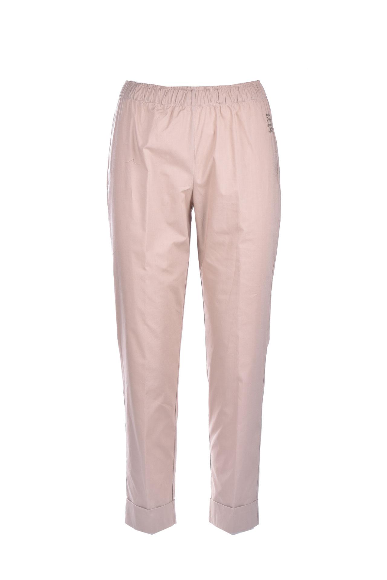 Pantalone capri pull-on con elastico SEMICOUTURE | Pantaloni | Y1SK11V62