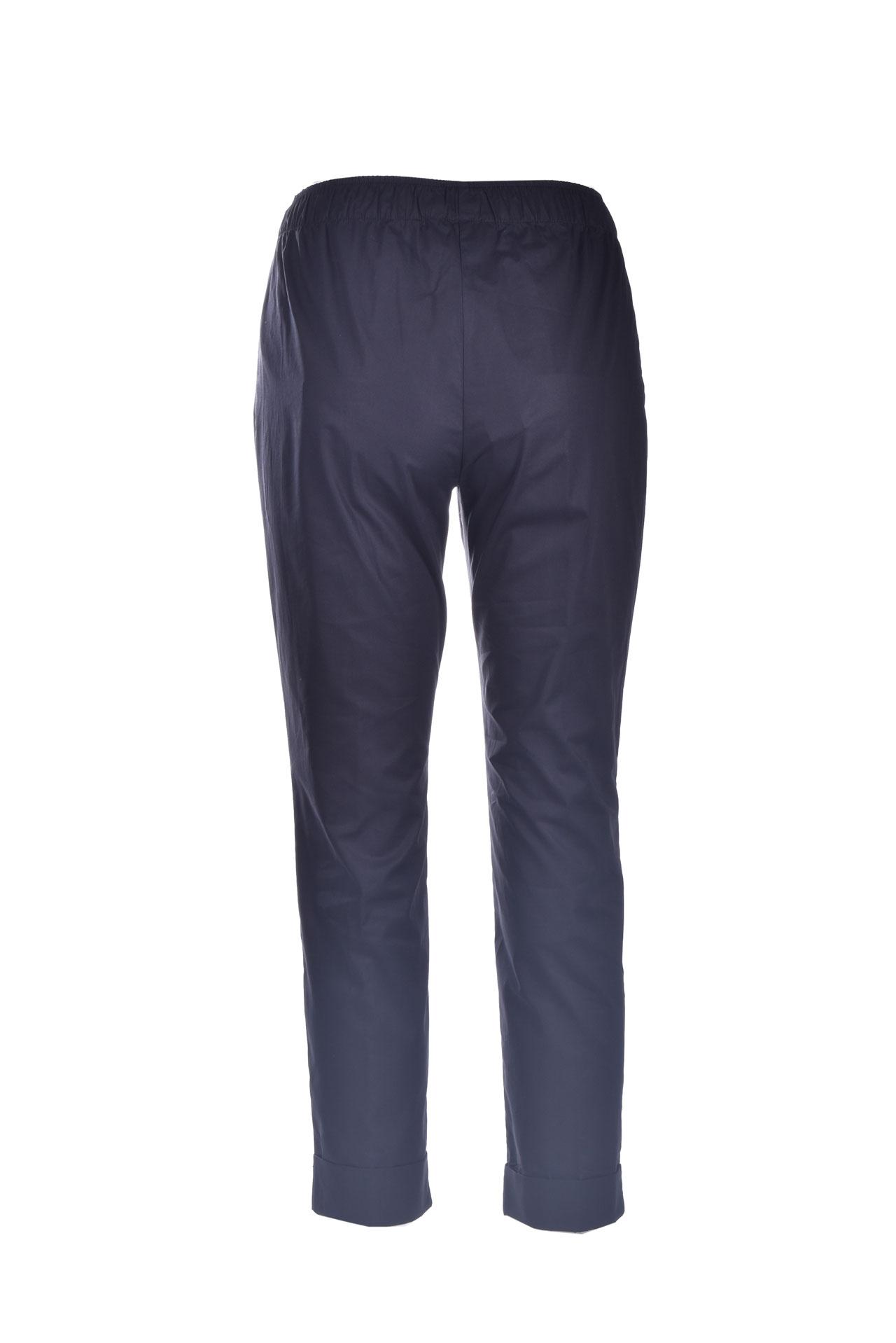 Pantalone capri pull-on con elastico SEMICOUTURE | Pantaloni | Y1SK11Y69