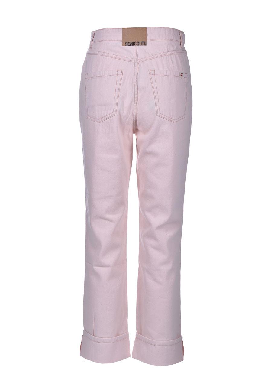 Jeans flare con risvolto SEMICOUTURE   Jeans   Y1SY15H04