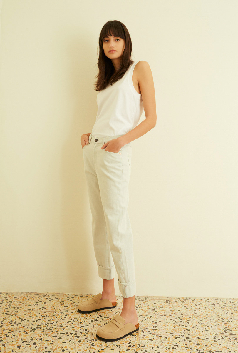 Flare jeans with turn-up SEMICOUTURE | Jeans | Y1SY15M21