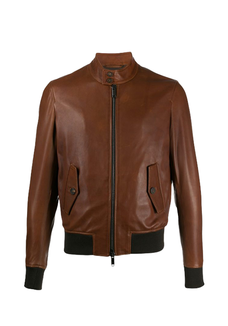 Colby leather jacket TAGLIATORE | Jackets | COLBY RUE20-02CUOIO