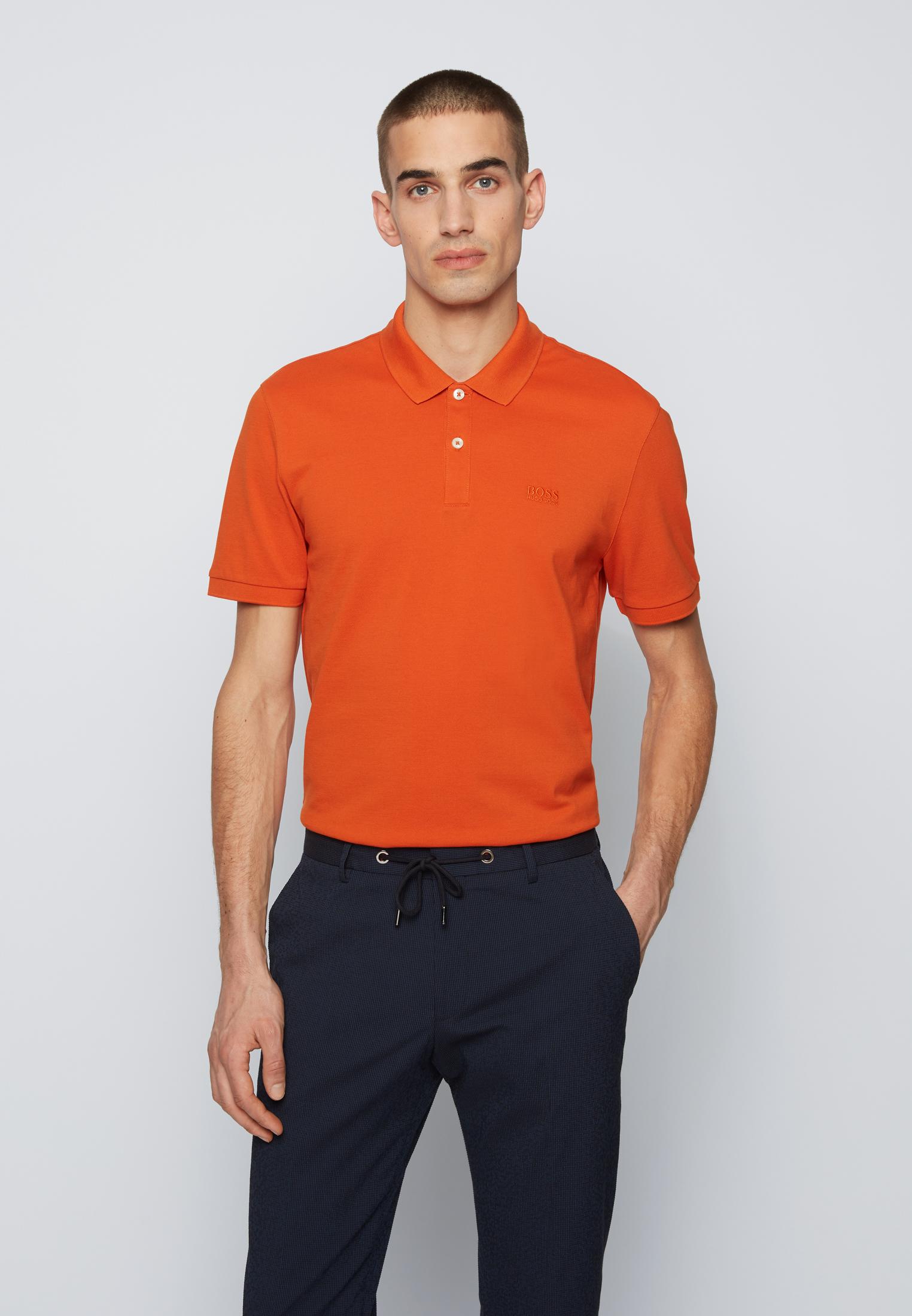 Polo regular-fit two-button - Orange BOSS | Polo Shirt | 50425985825