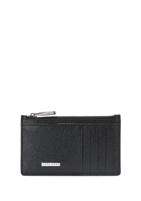 Leather card holder. Hugo Boss HUGO BOSS      50326710001