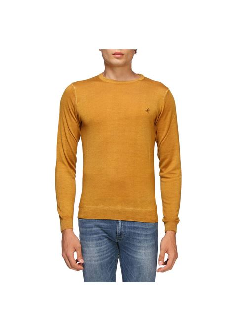 Maglia girocollo in pura lana vergine con logo ricamato. Brooksfield BROOKSFIELD | Maglie | 203C.O0010141