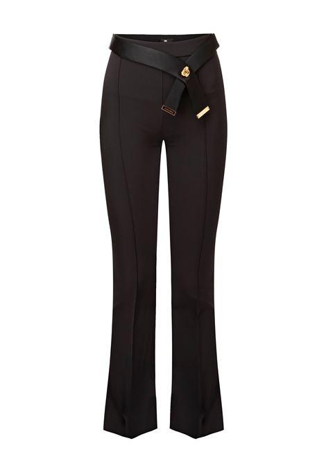 Pantalone lungo con cintura. Elisabetta Franchi ELISABETTA FRANCHI | Pantaloni | PA18086E2110