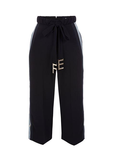 Pantalone con cintura logata. Elisabetta Franchi ELISABETTA FRANCHI | Pantaloni | PA19286E2110