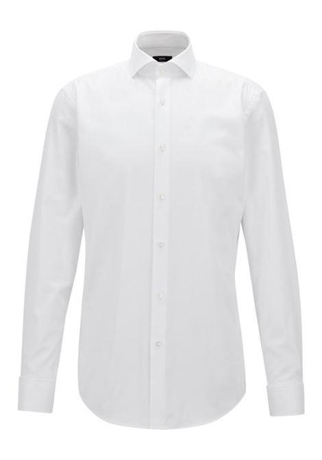 Slim fit shirt in pure cotton. Hugo Boss HUGO BOSS |  | 50308164100