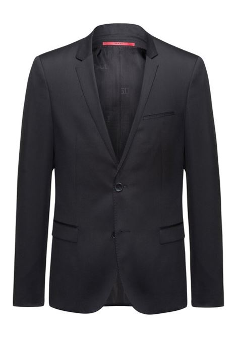 Giacca extra slim fit in twill di lana vergine. HUGO BOSS HUGO BOSS | Giacche | 50375345001