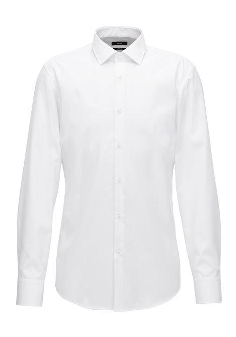 Camicia slim fit in cotone facile da stirare. Hugo Boss HUGO BOSS   Camicie   50380347100