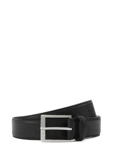 Cintura in pelle liscia con cuciture tono su tono. Hugo Boss HUGO BOSS | Cinture | 50385849001