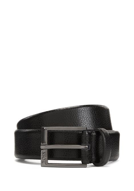 Cintura in pelle con grana goffrata. Hugo Boss HUGO BOSS | Cinture | 50386188001