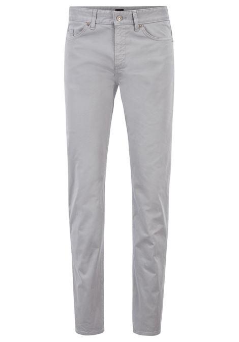 Jeans effetto raso con finitura spazzolata effetto diamante. Hugo Boss HUGO BOSS | Jeans | 50391286041