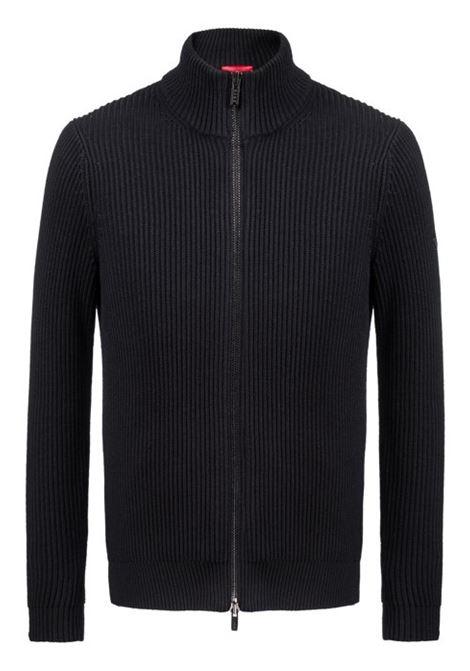 Giacca in maglia con zip in misto cotone lana. HUGO BOSS HUGO BOSS | Maglie | 50391751001