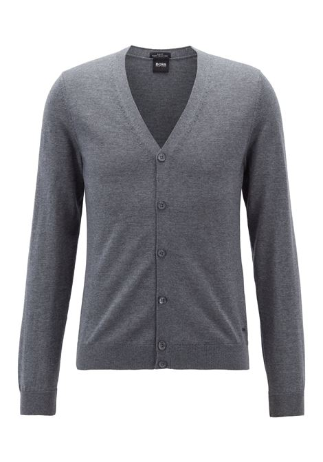 Cardigan in extra fine italian merino wool. Hugo Boss HUGO BOSS |  | 50392802030