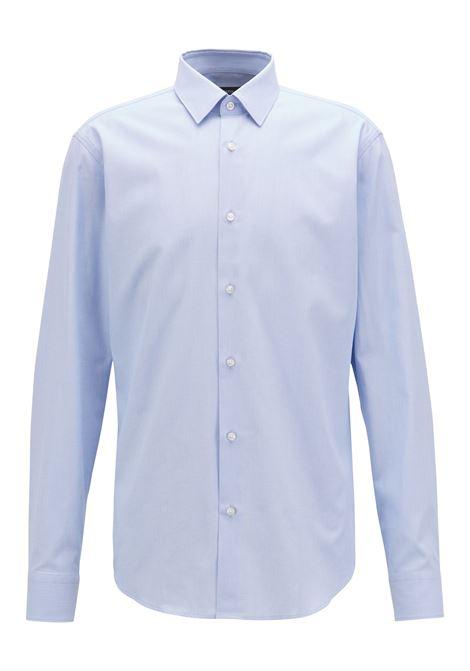 Camicia regular fit in cotone lavorato. Hugo Boss HUGO BOSS   Camicie   50393470450