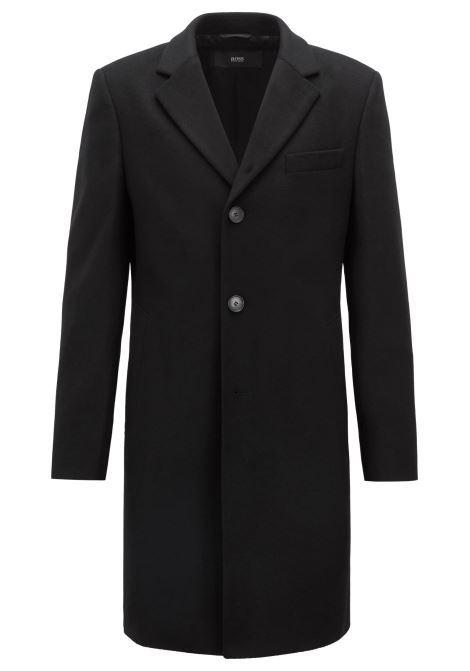 Cappotto in lana e cashmere con revers classico. Hugo Boss HUGO BOSS | Cappotti | 50394082001